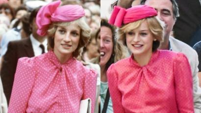 Így vált Emma Corrin Diana hercegnővé