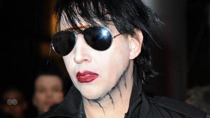Így zajlik a forgatás Marilyn Mansonnal