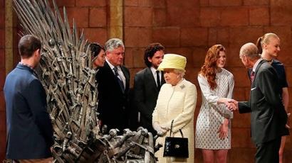 II. Erzsébet látogatást tett a Vastrónnál Észak-Írországban