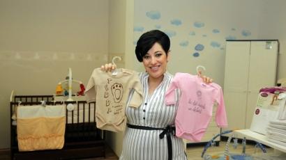 Ikrekkel várandós Baby Gabi
