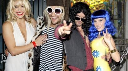 Ilyen az, amikor a sztárok egymásnak öltöznek Halloweenkor