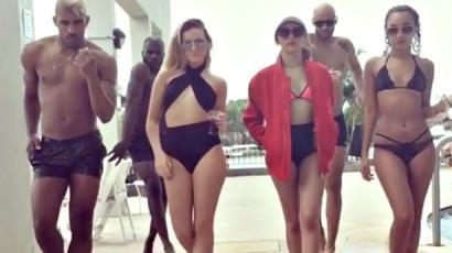 Ilyen dögösek a fürdőruhára vetkőzött Little Mix-lányok