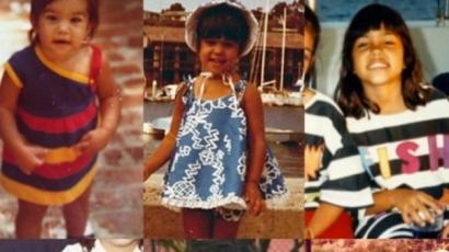 Ilyen elbűvölő kislány volt Kourtney Kardashian