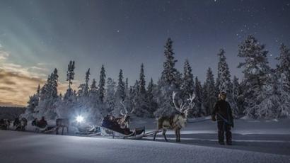 Ilyen gyönyörű a hóborította Finnország!