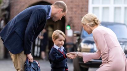 Ilyen volt a kis György herceg első napja az iskolában – videó