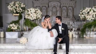 Ilyen volt Italia Ricci és Robbie Amell esküvője