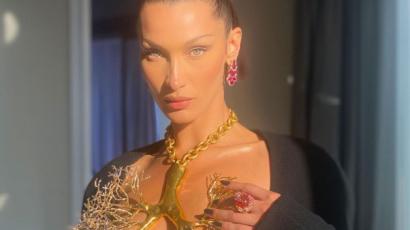 Ilyen volt viselni a merész nyakláncot Bella Hadid szerint