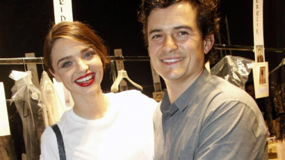 Ilyenek a jó exek! Megható üzenettel köszöntötte Miranda Kerr-t Orlando Bloom