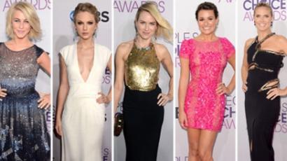 Íme, a People's Choice Awards legszebb és legrosszabb ruhái!