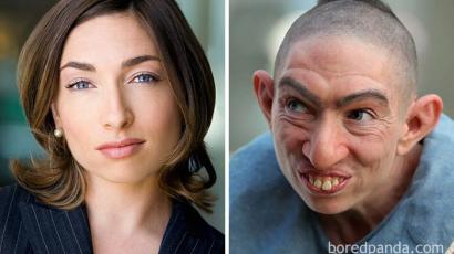 Íme néhány csodálatos átalakulás egy-egy film vagy sorozat kedvéért