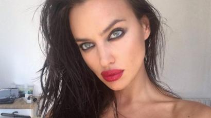 Irina Shayk szőke lett