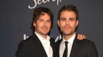 Ismét egy fotón a Salvatore testvérek!