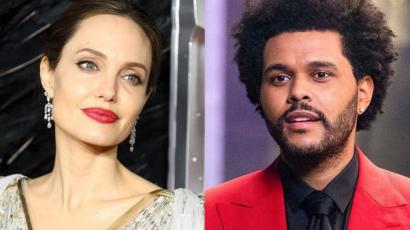 Ismét együtt látták Angelina Jolie-t és The Weekndet
