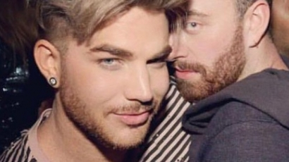 Ismét együtt lógott Adam Lambert és Sam Smith