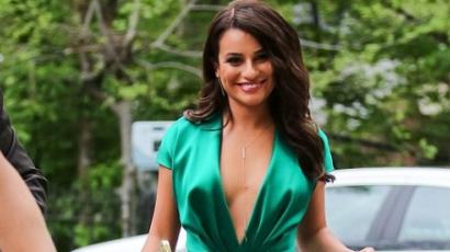 Ismét villantott Lea Michele