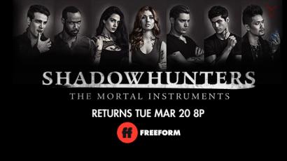 Izgalmasnak ígérkezik a Shadowhunters harmadik évada