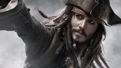Jack Sparrow a szinglik kedvence