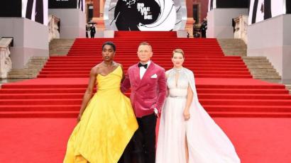 James Bond - Nincs idő meghalni premier: így jelentek meg a hírességek