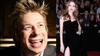Jamie Oliver felhizlalja Angelina Jolie-t