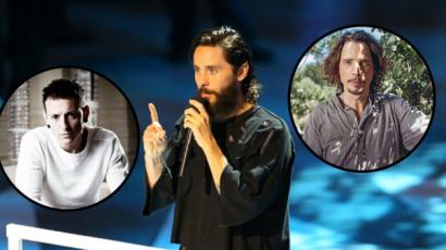 Jared Leto megható beszédet mondott Chester Bennington és Chris Cornell emlékére