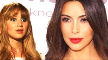 Jennifer Lawrence rajong Kim Kardashianért