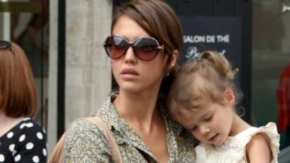 Jessica Alba kislánya kis híján megfulladt