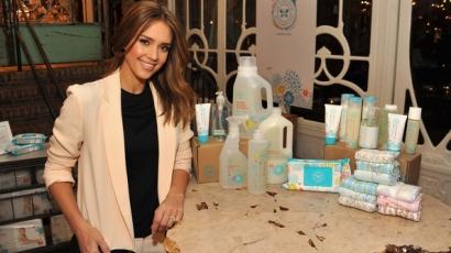 Jessica Alba saját céget alapított