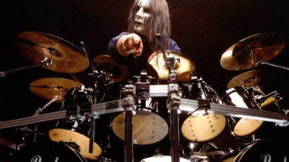 Joey Jordison az utóbbi 25 év legjobb dobosa