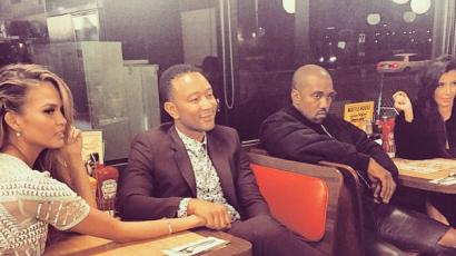 """John Legend: """"Sosem voltunk közeli barátok Kanye Westtel"""""""
