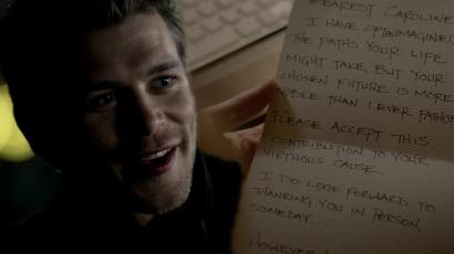 Joseph Morgannek fogalma sem volt Klaus Caroline-nak írt leveléről a Vámpírnaplók fináléjáig
