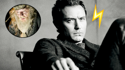 Jude Law fogja életre kelteni a fiatal Dumbledore-t