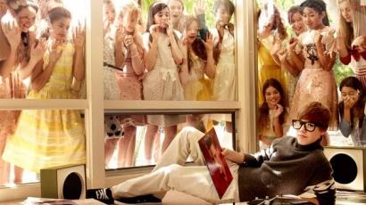 Justin Bieber a Vanity Fair februári számában