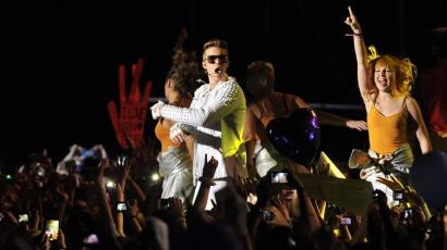 Justin Bieber meggyalázta Argentína szimbólumát