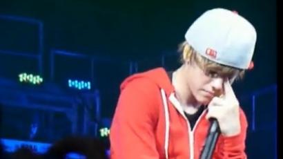 Justin Bieber elsírta magát!