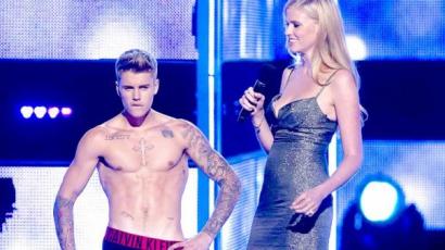 Justin Bieber férjezett modellel kezdett ki