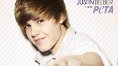 Justin Bieber is az állatok mellé állt