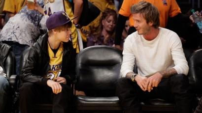 Justin Bieber megajándékozta Beckhaméket