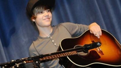 Justin Bieber meglepte rajongóit