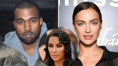 Kanye West a szupermodell Irina Shaykkel vigasztalja magát
