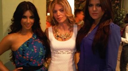 Kardashian nővérek a 90210-ben