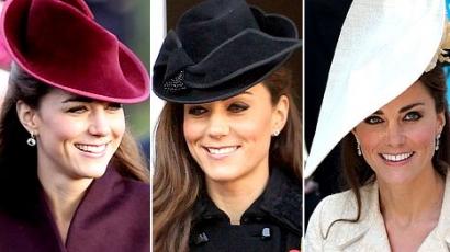 Katalin hercegné az év kalaposa