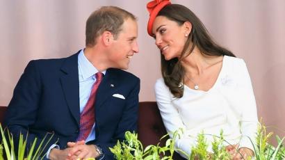 Kate és William szerelemfát ültetett