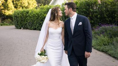 Katherine Schwarzeneggernek két esküvői ruhája is volt