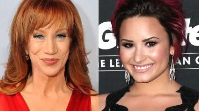 Kathy Griffin köcsögnek nevezte Demi Lovatót