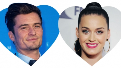 Katy Perry és Orlando Bloom kapcsolata immár Instagram-hivatalos lett
