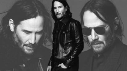 Keanu Reeves a Saint Laurent új arca