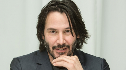 Keanu Reeves a The Late Late Show vendége volt