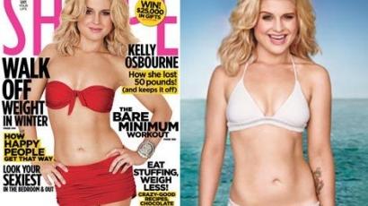 Kelly Osbourne a Shape magazin címlapján