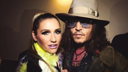 Ke$ha szexelt Johnny Depp-pel