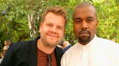 Kétszer pattintotta le James Cordent Kanye West